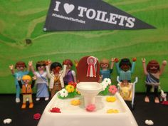 Everyone loves toilets. Even toy people. Submitted by Thorsten Kiefer, WASH United.