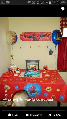 Chris 2nd bday party