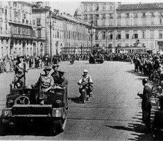 3 Maggio 1945, le truppe alleate entrano a Torino