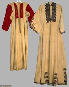 Augusta Auctions, April 17, 2013 - NYC: Two Caftans, Macedonia  Russia, 19th C