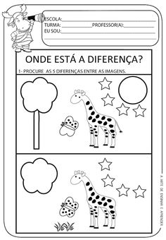 Spot the difference / FREE Printable Worksheets – Worksheetfun Free Preschool, Kindergarten Worksheets, Preschool Activities, 5 Year Old Activities, Free Printable Worksheets, Free Printables, Find The Difference Pictures, Such Und Find, Thinking Skills