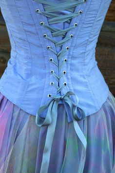 Image result for periwinkle blue corset
