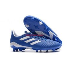 High Quality 2018 Adidas Predator FG Football Boots Blue White Adidas Soccer Shoes With Cheap Pirce Sale Online Blue Football, Adidas Football, Football Shoes, Adidas Predator, Tango, Girl Football Player, Football Players, Adidas Soccer Shoes, Nike Soccer