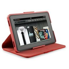 Speck Products SPK-A0963 Vegan Leather FitFolio Case for e-Reader/Tablet Computer by Speck. $22.75. FitFolio is a Kindle Fire (and similar sized tablet) case that combines the fit of a precision-molded hard shell case, with the cover-to-cover protection in a book-style folio. The form-fit hard-shell cradle keeps your Kindle Fire securely in place, so it doesn't slip or slide, even when the cover is folded back and held in one hand. A vegan leatherette book-style cover protects th...