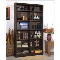 "Red Barrel Studio Black Bear 84"" Standard Bookcase & Reviews | Wayfair"