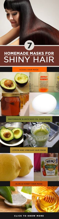 Yes our lust for shiny hair is never quenched! We always want more ways and better ways to achieve it. Hair masks for shiny hair that can be ..