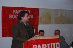 Ospite il Segretario di SEL Filippo Boatti durante il suo intervento al Congresso del Partito Socialista di Alessandria.