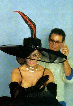 SOFIA LOREN with JEAN BARTHE in 1992.-    http://jean.barthet.free.fr/