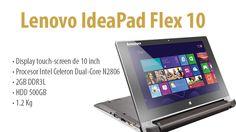Lenovo IdeaPad Flex 10 - un laptop mic, cu performante decente, Windows 8 inclus si pret decent. http://wp.me/p3boNm-UT