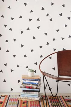 Walls Need Love Triangle Decal Set - Urban Outfitters