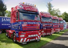 https://flic.kr/p/pKoRJ7 | James S Hislop of Kelso DAF XF R800JSH | Truckfest Scotland 2014, Ingliston, Edinburgh