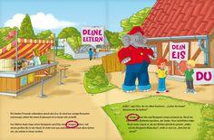 """""""Benjamin Blümchen und ich"""" - du triffst den sprechenden Elefanten. Ein personalisierbares #Kinderbuch von framily. #JADasBinJaich #Benjamin #BenjaminBlümchen #Törööö #Zoogeschichte #framily"""