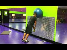 Neck Strength Exercise w/ Fitness Ball - Neck Workout 1