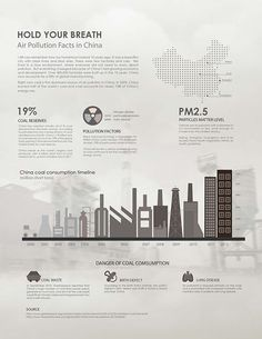 Information design about air pollution in China