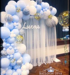 67 Awesome Balloon Decor Ideas For Your Celebration - Page 38 of 67 - Veguci Balloon Decorations Balloon Decor Wedding Balloon Balloon Ideas Balloon Arch Deco Baby Shower, Baby Shower Balloons, Shower Party, Baby Shower Parties, Baby Shower Themes, Baby Boy Shower, Shower Ideas, Shower Favors, Shower Invitations