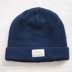 NAME KNIT [limited color] #d.navy