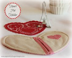 Heart Pot Holder | A Spoonful of Sugar