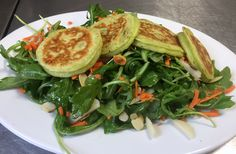 Scallion Ginger Pancake Special, Five Loaves Cafe, Summerville, SC