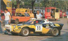 Lancia Stratos Tabaton Radaelli 1980 Rally Coliine di Romagna