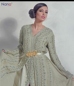 #RomeoHauteCouture #sissiavecromeo #kawtar#tange #caftan الوصيفة الاولى لملكة جمال المغرب كوتر في قفطان من مجموعة روميو 2015
