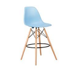 Barstool Slope Chair in Blue | dotandbo.com