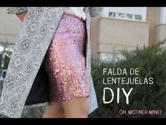DIY: Chaqueta de fiesta facilísima - YouTube