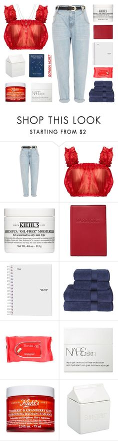 """""""happy birthday america!"""" by frostedfingertips ❤ liked on Polyvore featuring River Island, Kiehl's, Lodis, Christy, NARS Cosmetics, BIA Cordon Bleu, Eva Fehren, country, haileelook and clarelook"""