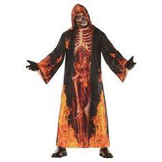 Men's Underworld Skeleton Cloak Costume OSFM : Target