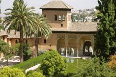 Alhambra. Moorish Design. Granada Spain. 15th Century.
