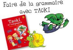 Fiches de grammaire avec TAOKI - Caracolus Cycle 2, Comic Books, Aide, School, Ranger, Classroom Management, Nursery School, Vocabulary, Cartoons