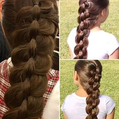 "Try out this new tutorial ""Horizontal Pull Through Braid""  Link is in my bio"