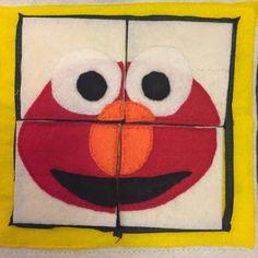 Quiet book: Elmo puzzle