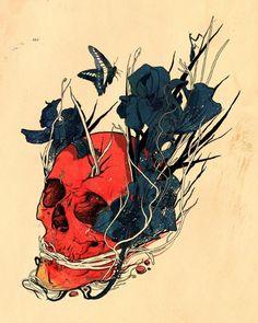 Skull by Nicebleed.