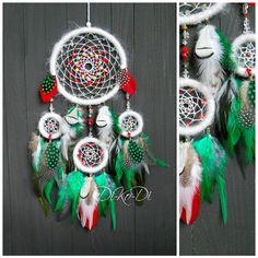 Christmas dream catcher, Christmas decoration Dreamcatcher, Christmas decorations, Christmas gift, large dreamcatcher, Bohemian dreamcatcher