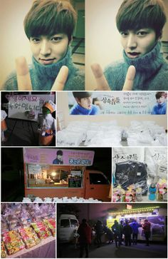 Lee Min Ho thanks his fans for Heirs farewell gifts