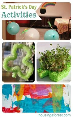 Lots of fun St Patricks Day Activities    Lots of Science experiments on this site