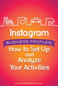 Do you use Instagram for your business? Making the switch to an Instagram business profile will give you access to a number of features that business owners may find useful. In this article, you'll discover what marketers need to know about the new Instagram business profiles. Via @smexaminer.