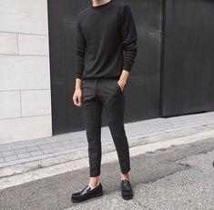 Amamos combinações all black.