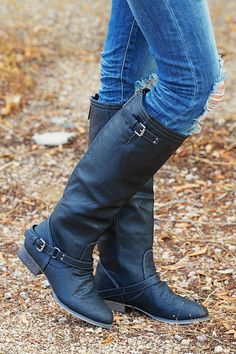 To Die For Black Boots from Closet Candy Boutique #fashion #shop