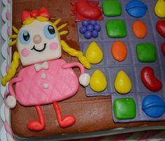 candy crush cake | candy crush saga cake - by SweetFavorsByPerlita @ CakesDecor.com ...
