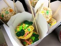 Chinese food + cupcakes = a perfect combo