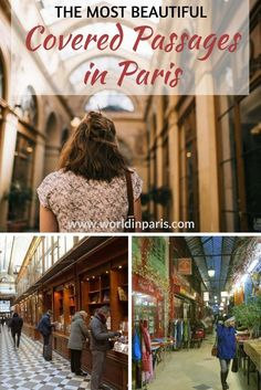 Covered Passages in Paris | Paris Like a Local | Paris Travel Inspiration | Paris Architecture | Paris Shopping | Vintage Shopping | Cute Cafes in Paris