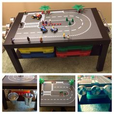 The ultimate DIY Lego table!!