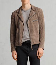 Best Sellers for Men Suede Jacket, Leather Jacket, Biker Jacket Outfit, Mens Traditional Wear, Le Closet, Best Mens Fashion, Men's Fashion, Leather Men, Grey Leather