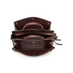 Chester in Burgundy Textured Goat | Chester | Mulberry