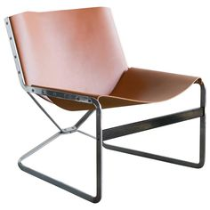 Rare Pierre Paulin for A. Polak Originals Lounge Chair | 1stdibs.com