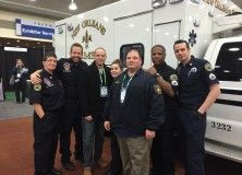 Phillipsburg Emergency Squad President Christopher Lee and Vice President Russ Bogoly Jr. meets the crew from the TV show Nightwatch.