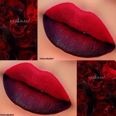 Rose Inspired Ombre Lips