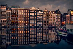 Last evening sun in Amsterdam | by Sabine Wagner on 500px