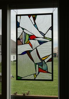 Fragments: Stained Glass Panel